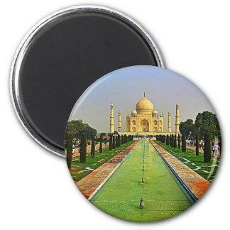 El Taj Mahal la India Imán Redondo 5 Cm