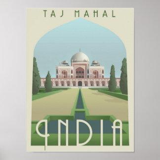 El Taj Mahal, la India Impresiones