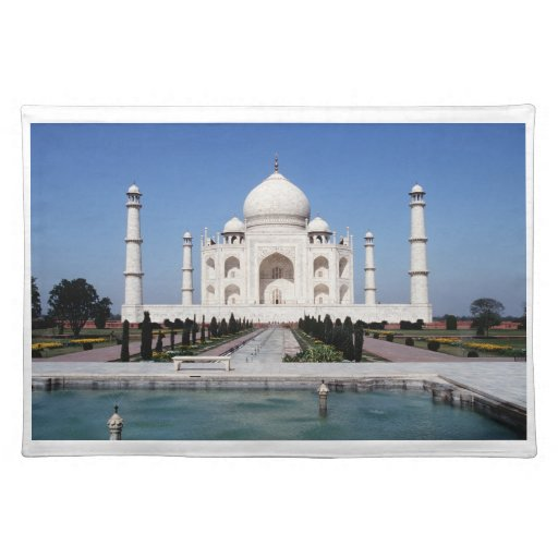 El Taj Mahal la India Manteles