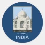 El Taj Mahal la India Pegatinas