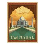 El Taj Mahal, la India Postal