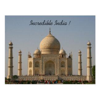 el Taj Mahal la India Postales