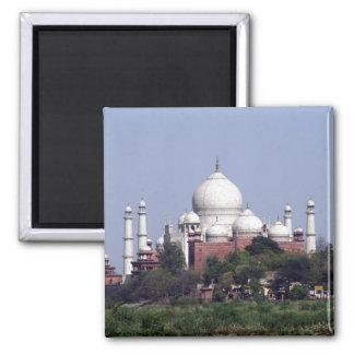 el Taj Mahal lejos Imán Cuadrado