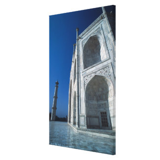El Taj Mahal Lona Envuelta Para Galerias