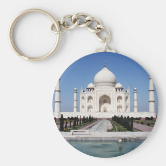 El Taj Mahal Llavero Personalizado