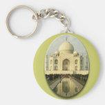 El Taj Mahal Llaveros Personalizados