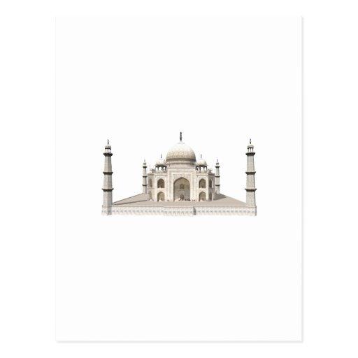 El Taj Mahal: modelo 3D: Postales