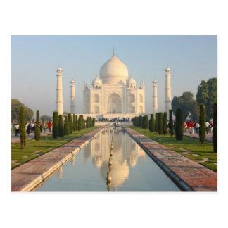 El Taj Mahal, monumento histórico famoso de A Postales