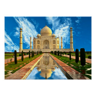 El Taj Mahal, mundos la mayoría de las casas