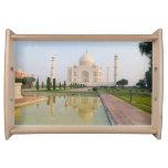 El Taj Mahal pacífico reservado en la salida del Bandeja
