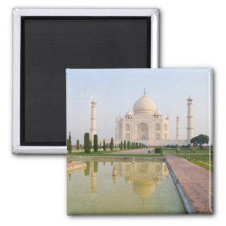 El Taj Mahal pacífico reservado en la salida del s Imán Cuadrado
