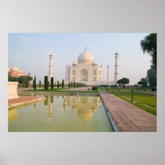 El Taj Mahal pacífico reservado en la salida del s Impresiones