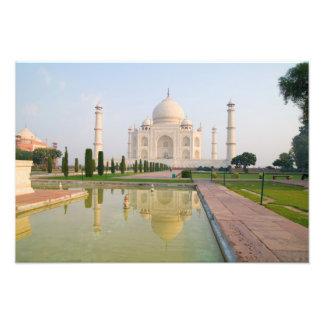 El Taj Mahal pacífico reservado en la salida del s Impresion Fotografica