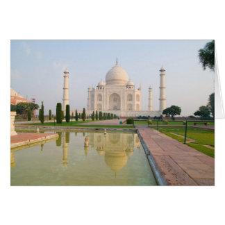 El Taj Mahal pacífico reservado en la salida del s Tarjeton