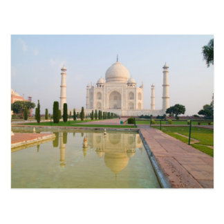 El Taj Mahal pacífico reservado en la salida del s Tarjeta Postal