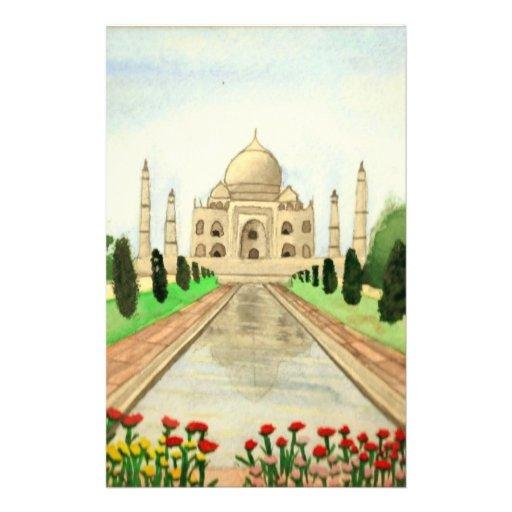 El Taj Mahal Papelería De Diseño