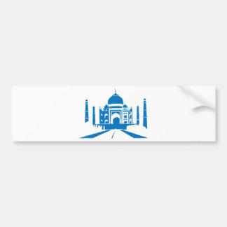 El Taj Mahal Pegatina Para Auto