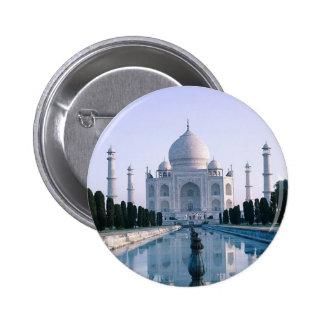 El Taj Mahal Pin Redondo De 2 Pulgadas