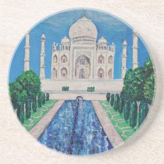 El Taj Mahal Posavasos Cerveza