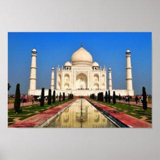 El Taj Mahal Póster