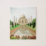 El Taj Mahal Puzzle Con Fotos