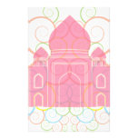 El Taj Mahal rosado Papeleria De Diseño