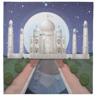 El Taj Mahal Servilleta
