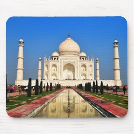 El Taj Mahal Alfombrillas De Ratones