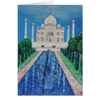 El Taj Mahal Tarjeta De Felicitación