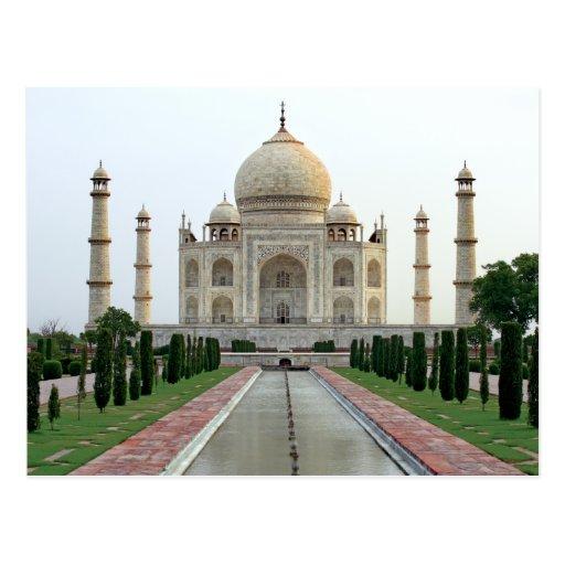 El Taj Mahal Tarjetas Postales