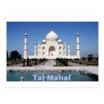 El Taj Mahal Tarjeta Postal