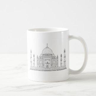 el Taj Mahal Taza De Café