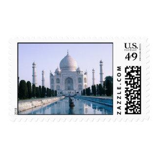 El Taj Mahal Timbre Postal