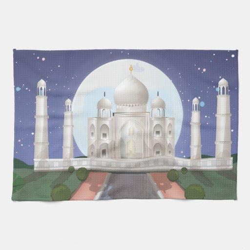 El Taj Mahal Toalla De Cocina