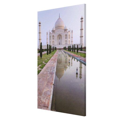 El Taj Mahal todavía reflejado perfectamente en Impresiones En Lona