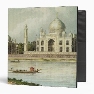 """El Taj Mahal, tumba del emperador Shah Jehan y Carpeta 1 1/2"""""""