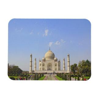 El Taj Mahal, un mausoleo situado en Agra, la Indi Imán