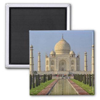 El Taj Mahal, un mausoleo situado en Agra, la Indi Imán Cuadrado