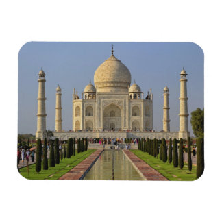 El Taj Mahal, un mausoleo situado en Agra, la Indi Imanes Rectangulares