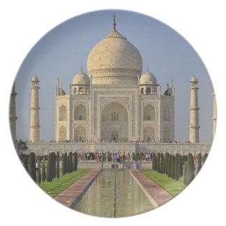 El Taj Mahal, un mausoleo situado en Agra, la Indi Platos De Comidas