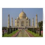 El Taj Mahal, un mausoleo situado en Agra, la Indi Felicitacion