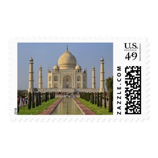 El Taj Mahal, un mausoleo situado en Agra, la Sellos