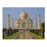 El Taj Mahal, un mausoleo situado en Agra, la Tarjetas Postales
