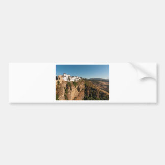 El Tajo Gorge, Ronda, Spain Bumper Sticker