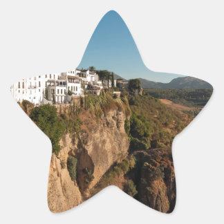 El Tajo Gorge, Ronda, Spain Star Sticker