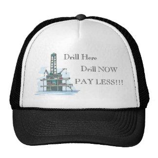 ¡El taladro aquí ahora perfora paga menos!  Gorra