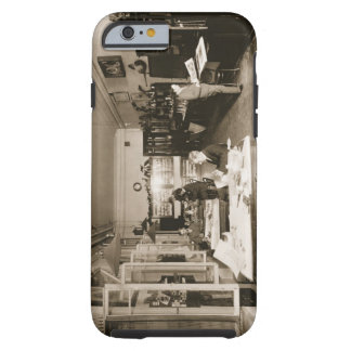 El taller de Faberge (foto de b/w) Funda De iPhone 6 Tough
