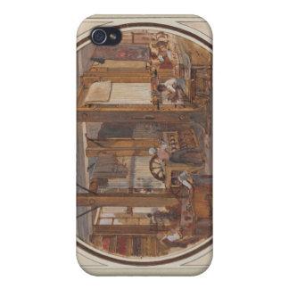 El taller de los duendes, 1840 iPhone 4 carcasa