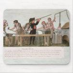 El taller de los fabricantes del rifle, 1793 tapetes de ratones