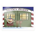 El taller de Santa que visita Postales